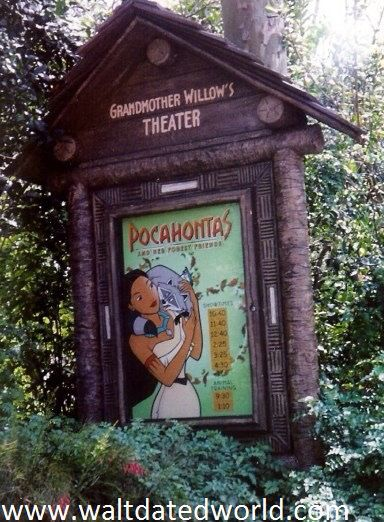 Visit Pocahontas and her Forest Friends at Walt Dated World: http://waltdatedworld.com/id248.htm