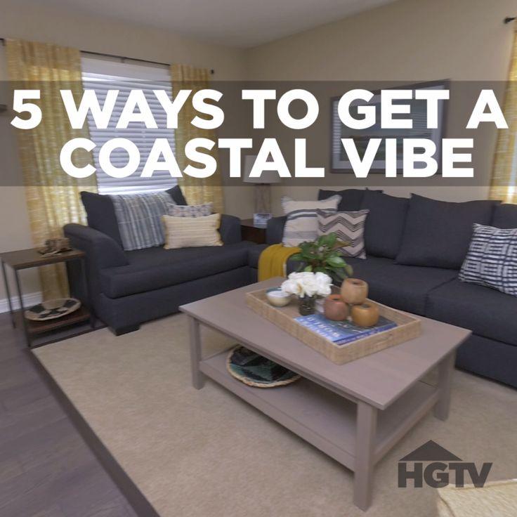 5 Ways to Get a Coastal Vibe