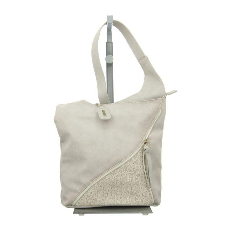 NEU: Rieker Handtaschen H1428-40 - grau kombi -