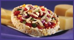 rice cake ideas n toppings w/calories n weight watchers points