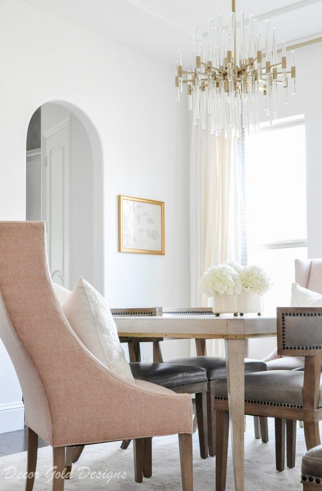 Winter Home Tour Antique Dining Chairs Dining Furniture Dining