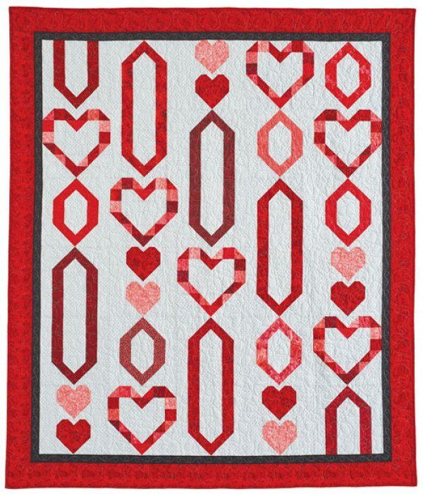 Chain of Hearts Quilt Pattern Download