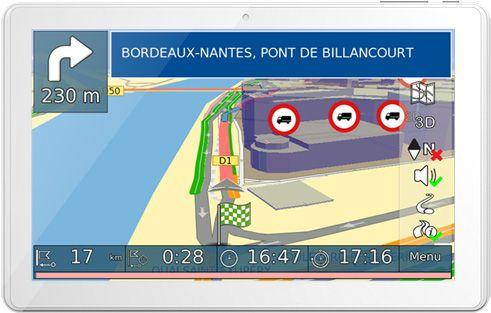 NAVITREX Tablette GPS pour CAMION POIDS LOURDS
