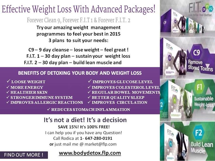 It only takes nine days to kick start your cleanse and weight loss programme, following a proven step by step plan called Forever F.I.T. to help you keep the weight off long term and develop a healthy, lean, toned body. You start with the clean 9 (also known as C9), then the F.I.T. 1 and F.I.T. 2 - a total of 69 days.   Just over two months and your dietry lifestyle could change forever. Your 9 day weight management plan with Clean 9 & Forever FIT