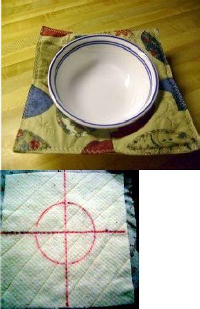 how to make bowl shaped pot holder