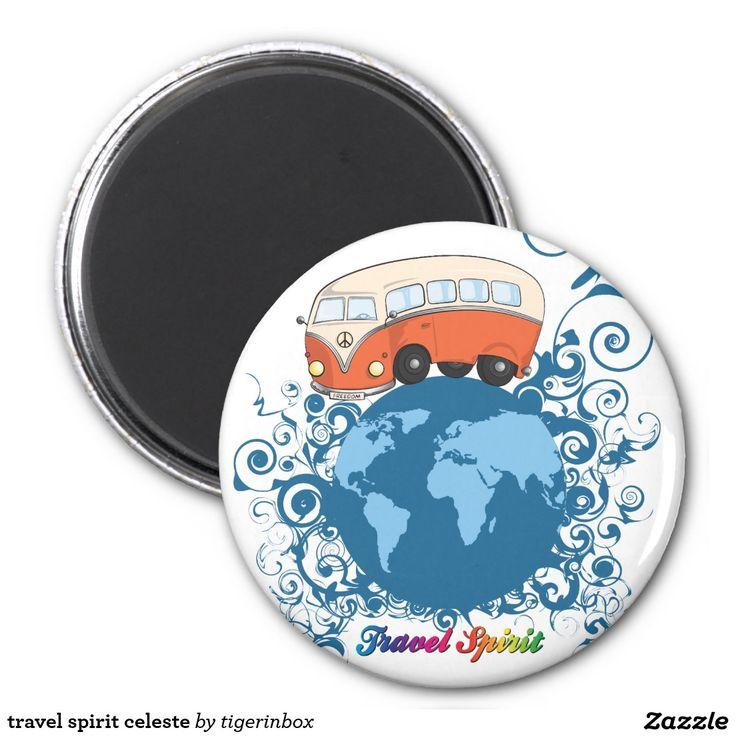 travel spirit celeste magnet