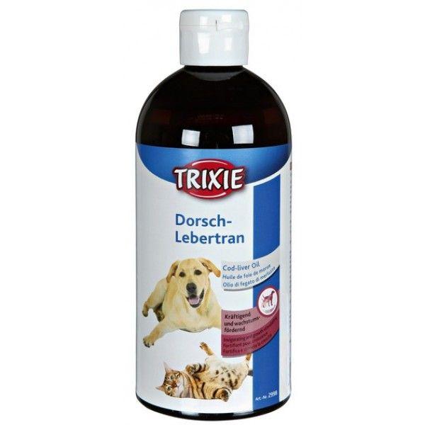 Olio di fegato di Merluzzo 500ml cani e gatti