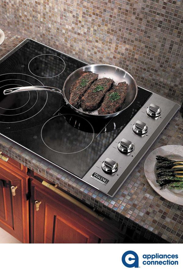 Viking Vec5304bsb 5 Series 30 Inch Electric Smoothtop Cooktop