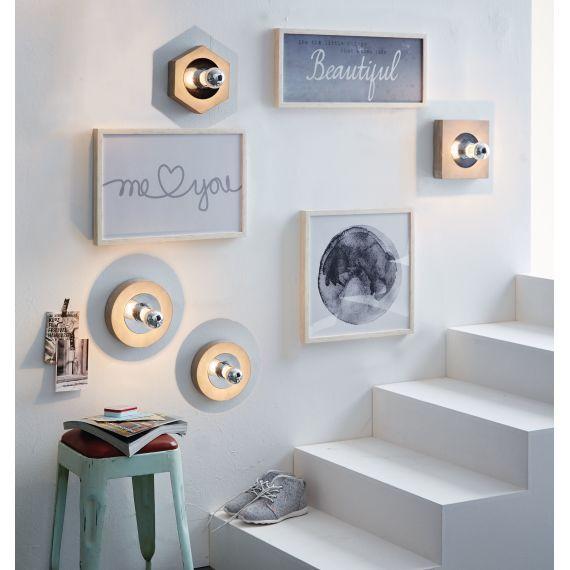 ber ideen zu wandleuchten modern auf pinterest wandleuchten garderobe selber bauen. Black Bedroom Furniture Sets. Home Design Ideas