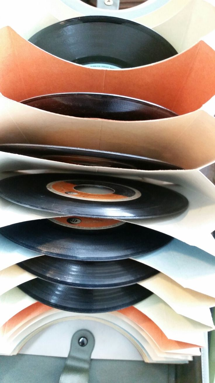 Porta Dischi Vinile 45 giri #collectors #Collection #homedesign