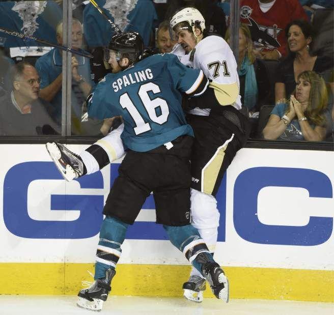June 4, 2016 — Stanley Cup Final: Sharks 3, Penguins 2 OT (Photo: Chaz Palla     Tribune-Review)