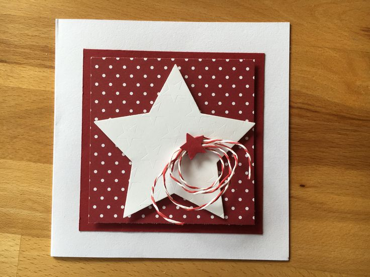31 best selbst gemacht weihnachtskarten images on pinterest christmas cards and stars. Black Bedroom Furniture Sets. Home Design Ideas