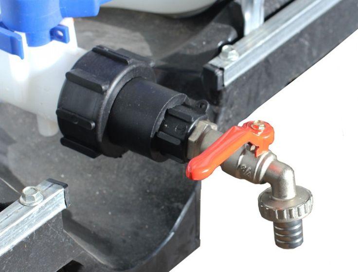 Fancy IBC Hahn Wasserhahn Tankanschluss u Bild