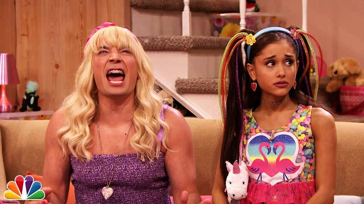 """Jimmy shows a clip from the Teen Nick show """"Ew!"""" in which Sara and her friend Alexa have a sing-off. Subscribe NOW to The Tonight Show Starring Jimmy Fallon:..."""