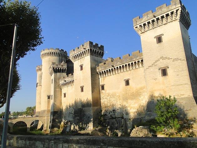 France, Bouches-du-Rhône, Tarascon-sur-Rhône, Château