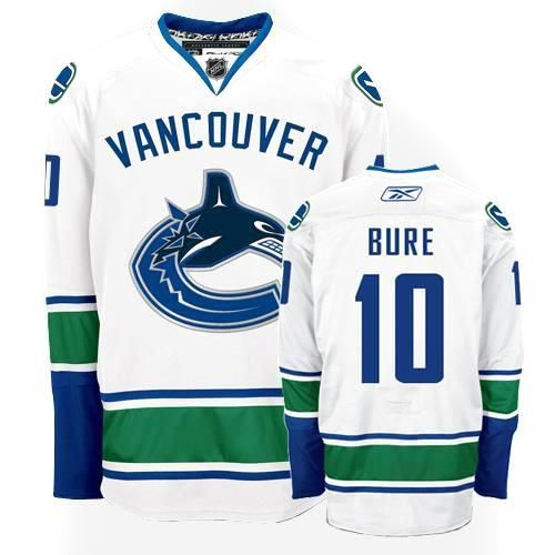 Vancouver Canucks 10 Pavel Bure Road Jersey - White