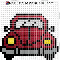 megustahamabeads scarabeo rosso