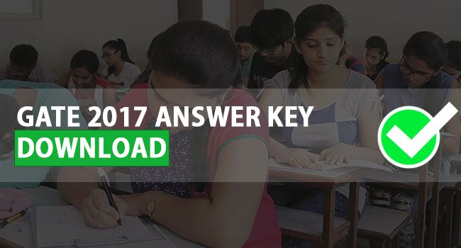 The GATE 2017 Exam has been concluded and the organizing institute IIT Roorkee has released GATE 2017 Answer Keys & Question Papers.