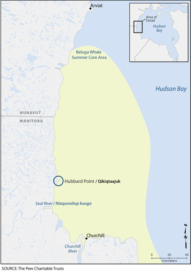 Hubbard Point Map