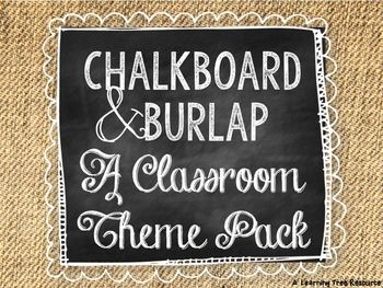 This 200+ page {EDITABLE} packet is full of chalkboard and burlap themed resources to help you turn blank walls into the cutest room on campus!Included in this pack...EDITABLE PowerPoint Resources (16 pages):*Welcome Personalized Door Sign*Small Round Labels *Medium Round Labels *Large Round Labels *Large Desk Nameplates (2 designs)*Small Cubby Nameplates *Small Square Labels *Large Rectangle Labels *Personalized Student Binder Cover & SpinesPrint-n-go PDF Resources (186 pages):*Testing S...