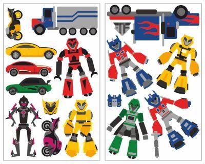Epic  teiliges Roboter Set Wandtattoo Roboter Wandtattoo Set