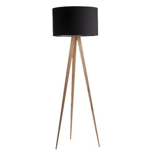 Zuiver Vloerlamp Tripod hout