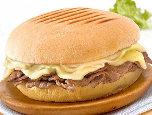 Barros Luco ....(is a leading sandwich grilled meat and melted cheese, sold in fast food outlets and restaurants in Chile. It is named President Ramon Barros Luco, who was a returning customer Confectionery Santiago.Solicitaba Torres often this mix especially made for him, which later became popular among the guests and the rest of the country).