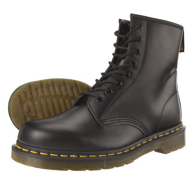 Glany Damskie Drmartens Dr Martens Czarne 1460 Black Dm10072004 Combat Boots Boots Dr Martens Boots
