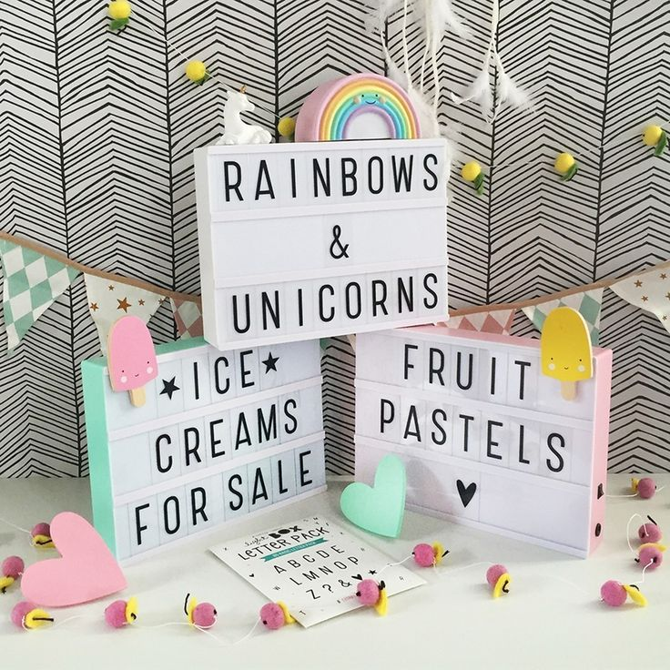 **NEW** Pastel Lightboxes have landed! They are even lovelier in real life…