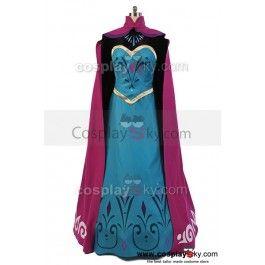 Disney Movie Frozen Elsa Coronation Dress Costume Cosplay ----  Frozen Cosplay Costume |  CosplaySky.com