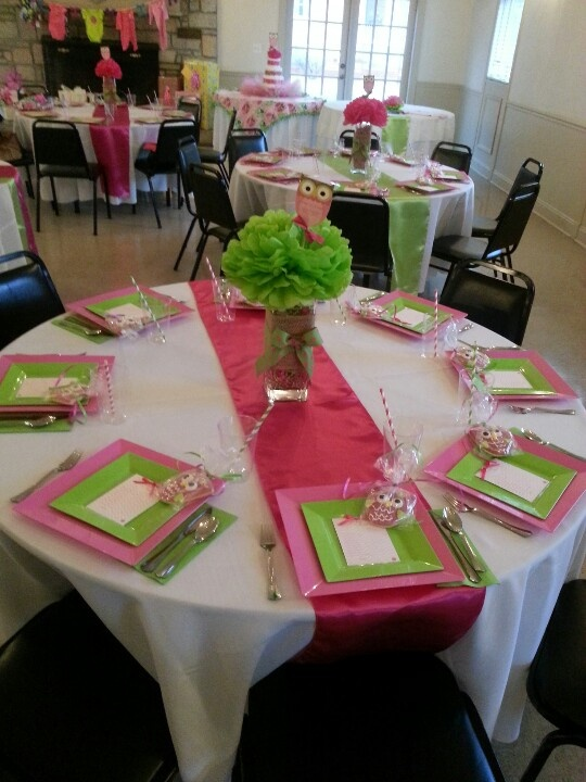 Baby Shower Table Setting Great Ideas Pinterest