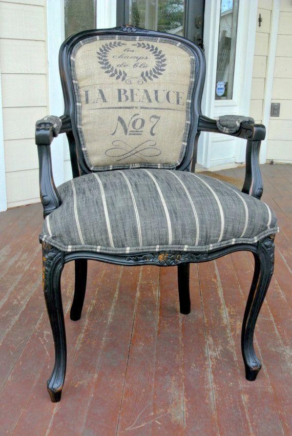 les 25 meilleures id es de la cat gorie peindre les chaises de tissu sur pinterest chaises en. Black Bedroom Furniture Sets. Home Design Ideas