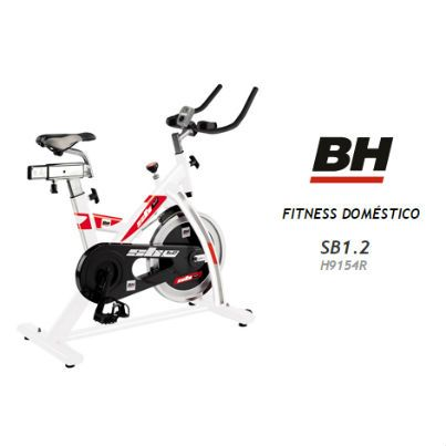 "Bicicleta de Spinning BH SB1.2 H9154R"""