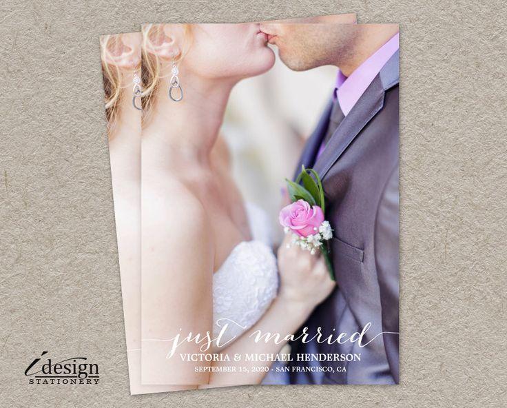 17 Best ideas about Marriage Announcement on Pinterest | Elopement ...