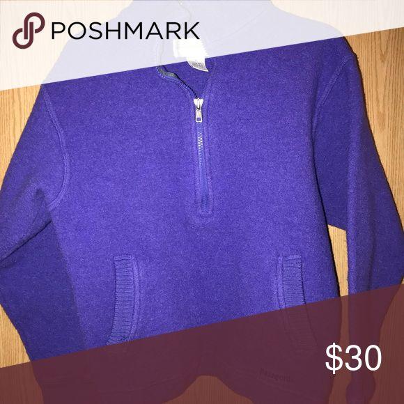 Patagonia Pullover Vintage Patagonia pullover in good condition! Patagonia Tops Sweatshirts & Hoodies