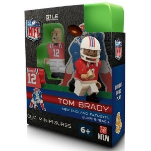 $10.99OYO Football NFL Building Brick Minifigure Throwback Jersey Tom Brady [New England Patriots]