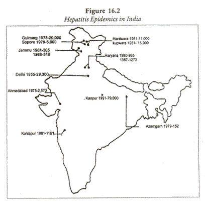 Hepatitis Epidemics in India