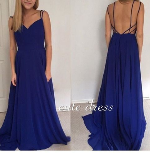 Best 25+ Blue formal dresses ideas on Pinterest | Dark blue prom ...