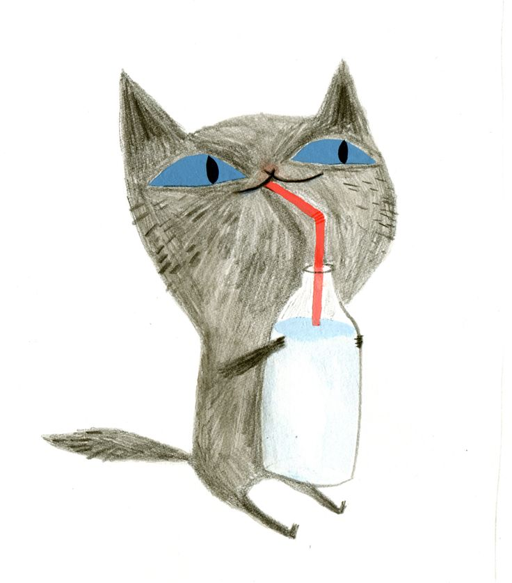 Ella Bailey Illustration ... Okay, Ella some very pretty illustrations, but this cat just makes me smile :)