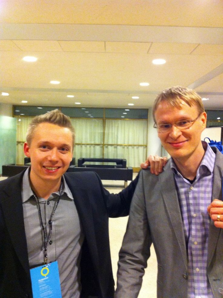 First Impression Manager Jere Eriksson & CEO Janne Ruohisto