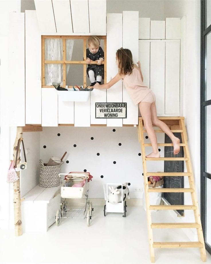 Clever kids rooms in small spaces