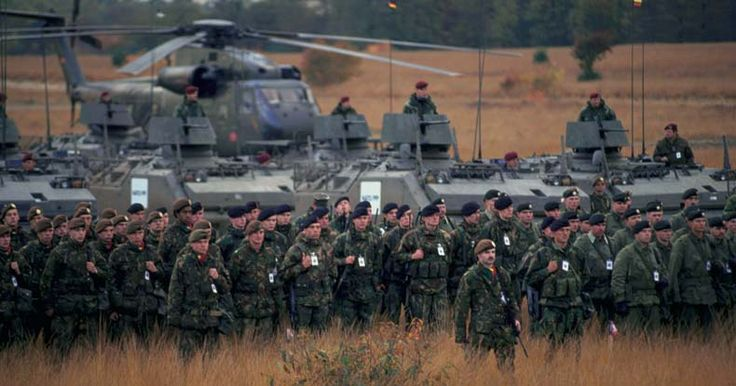 In spite of voting to leave the EU, Britain could be forced back in as the Union demands the sovereign country pay for their new multinational army.