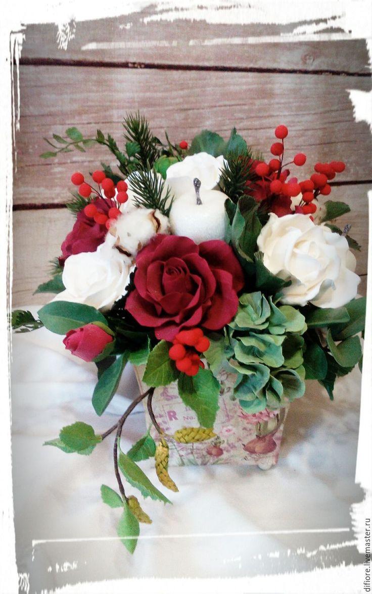 поделки изсоленого теста ваза с цветами пошаговая инструкция фото