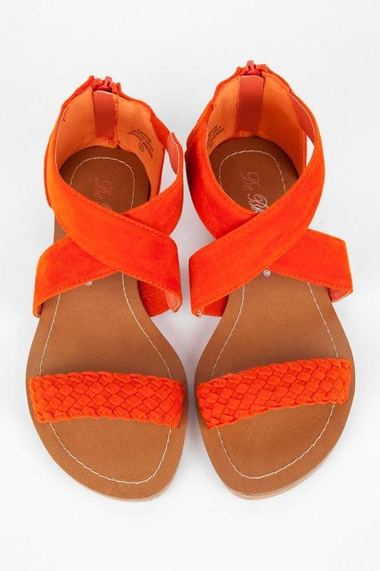 orange sandals #MyPaprikaIsHotterThanYours #OPIEuroCentrale