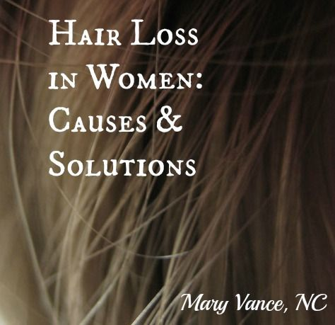 Your hair, your mom's? your grandmother's?  There may be a pattern of deficiency, hormonal or gut imbalance..