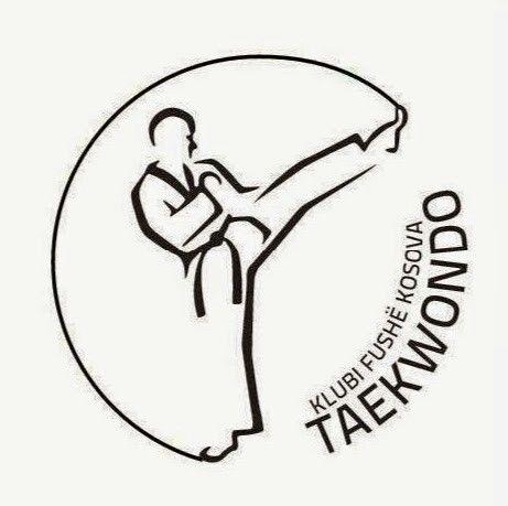 Logo e Klubit Taekwondo fushe kosova e punuar nga une