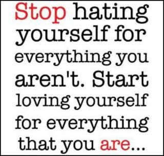stop hating yourself - operation beautiful