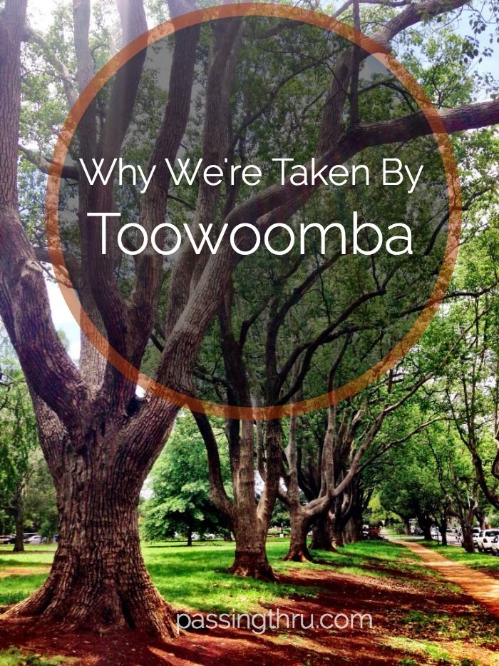 Everyone laughed when we said we were headed to Toowoomba. They said it was humdrum and definitely not hip. They were wrong. Read why: http://passingthru.com/2014/12/taken-toowoomba/ #Toowoomba #Queensland #Australia