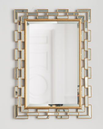 Cassandra Mirror at Horchow. Mirror Option for Above Entry Console.