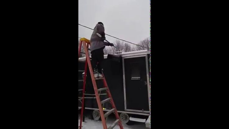 snow machine dolly